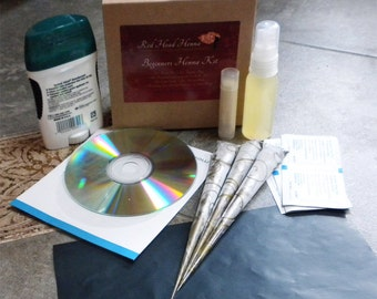 Clearance Sale - Henna Kit for Beginners, everything you need to try Henna for the first time