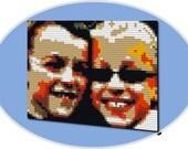 "PIXEL Personalized Wall Decor 15"" x 20"" - 30 Day MONEYBACK GUARANTEE"