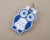 Dog Name Tag Custom - Engraved Owl Pet ID Tag Cat Collar