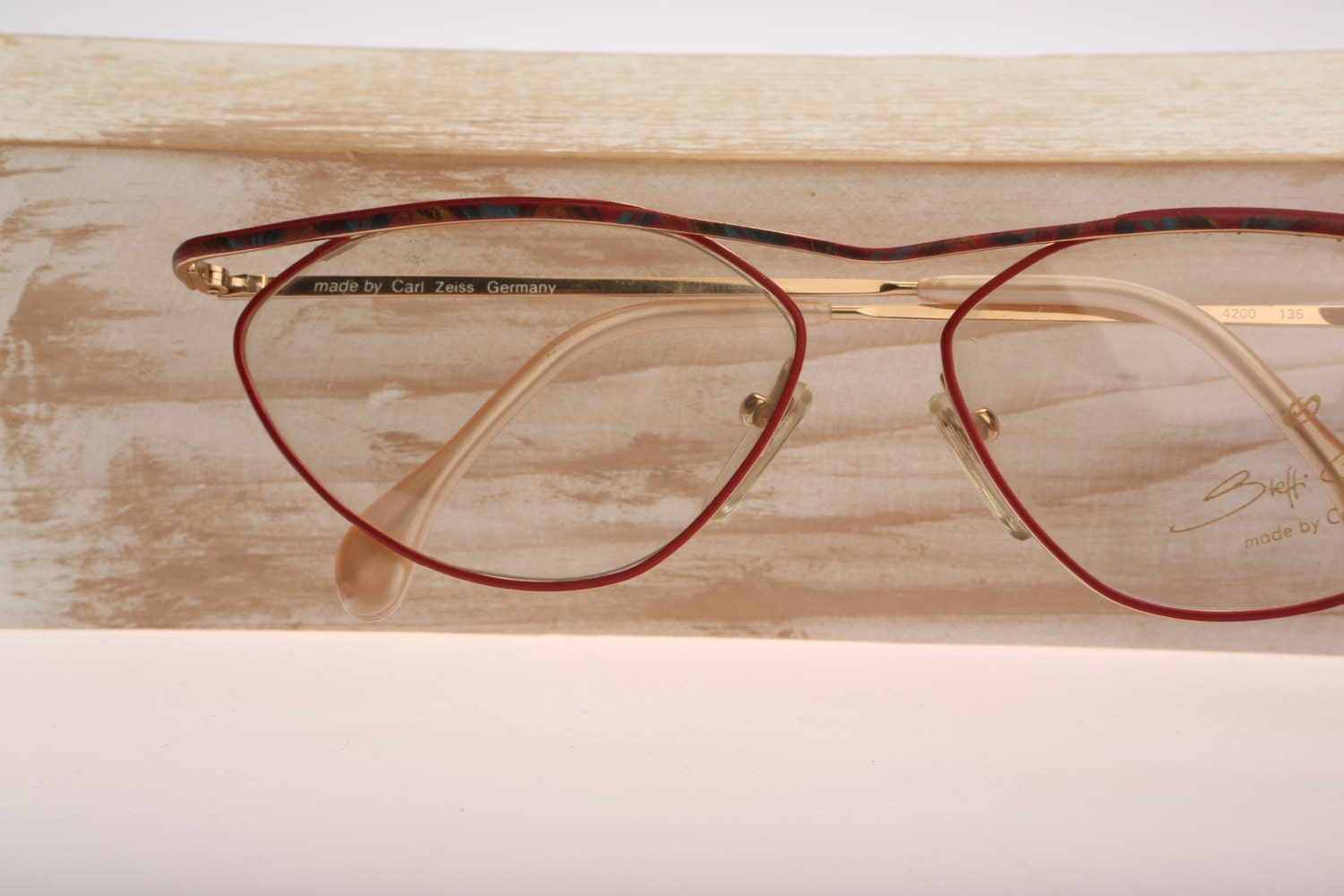 Carl Zeiss 3812 / Vintage eyeglasses / NOS / 80s by ...