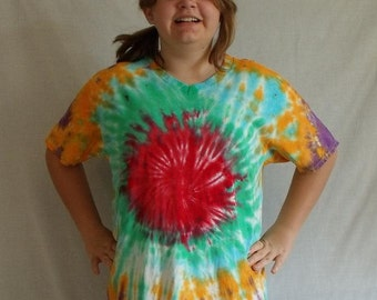reverse spider tie dye instructions