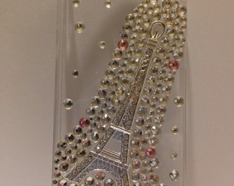 Crystal Eiffel Tower iPhone 4, iPhone 4S, iPhone 5, iPhone 5s, ipod 4,  galaxy s3 case
