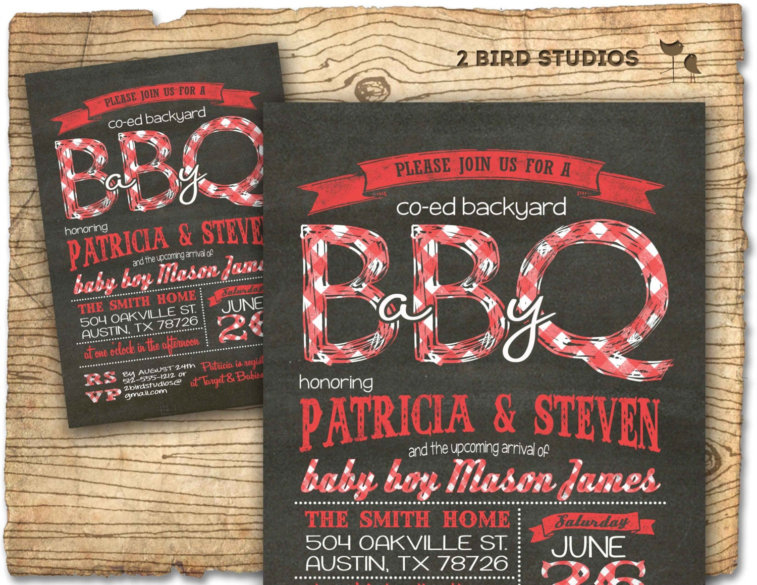 baby q baby shower invitation bbq baby shower coed couples, Baby shower