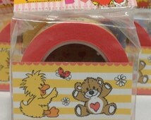 Masking Deco Tape Paper Tape Suzy's Zoo  Wide Tape  Border R042-23