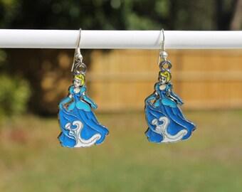 Cinderella Disney Princess earrings