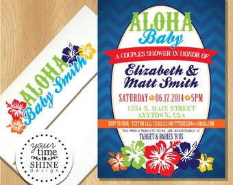 Luau baby shower Etsy