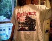 Totally Badass Military WolfPack Werewolf MachineGun Tshirt
