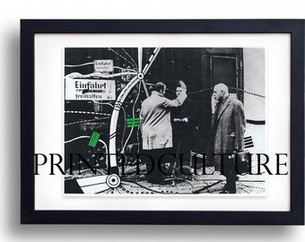 Peter Brüning- Signed And Numbered - Original Silkscreen - C1960S - Vintage Art