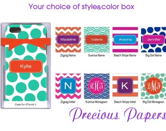 Personalized iPhone 4/4s cases, covers - Chevron iPhone Covers for 4/4s and 5