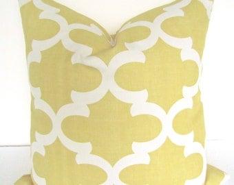 YELLOW PILLOW Yellow Throw Pillows Gold Pillows Yellow Throw pillow cover  16 18 20x20 Gold Moroccan Pillows .All Sizes. Home Decor