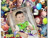 Toy Story [FULL PHOTO] birthday Invitation - Printable Toy Story birthday Invitation