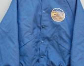 Drill, Baby, Drill: Alaska Oil and Gas Starter-Style Baseball Jacket