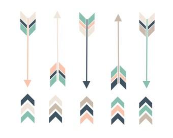 60% OFF SALE Arrow Clipart  Clip Art Arrows  Clipart Arrows  Clipart  Valentines  Nautical Arrows