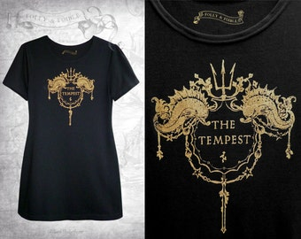 Shakespeare 'The Tempest' Cotton T-shirt Tunic