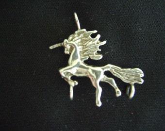 Vintage Unicorn Charm or Pendant