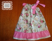 from PARIS pillowcase dress sizes NB to 3t