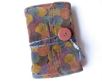 MOVING SALE - MONTECARLO - Handbound journal - Missoni fabric