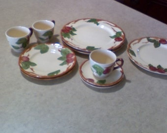 Franciscan apple set, most made in England