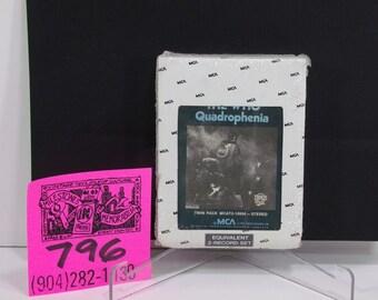 1970's MCA 8 track -The Who- Quadrophenia