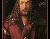 Fridge Magnet image Albrecht Durer Artist Self Portrait at age 28 from 1500 Renaissance