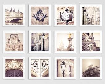 Paris photography - Mini prints - Set of 12 - Fine art photography,Fine art prints,Paris art,Paris decor,Wall art,Under 25