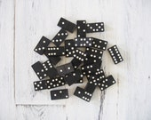 Vintage Greyhound Brand Dominoes Made in England