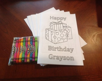 Birthday Coloring Books