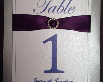 Enchanted Table Numbers
