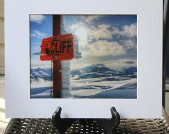 Cliff at Whistler, British Columbia 8x10 Photograph