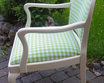 Upcycled Shabby-Chic Chair, Armchair Unique