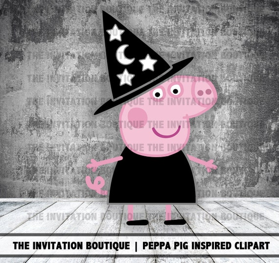 Peppa Pig Clipart Halloween Witch
