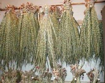 Sweet grass Braids, Sweetgrass Braids, Smudge, Mother Earth, Ancestors, Spiritual, Ritual, Pagan