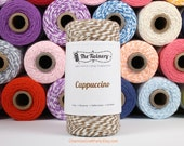 240 Yards of Twist Cappuccino Brown Baker's Twine - String - Embellishment Packaging Craft Party Supplies
