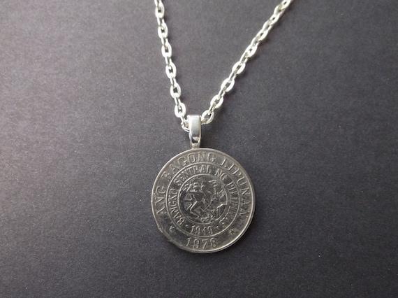 philippines bangong coin necklace philippines bangong lipunan
