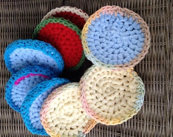 Treat yo' self Bath and Body Handmade Crocheted Scrubbies Skin Exfoliation Reusable Gifts for Her