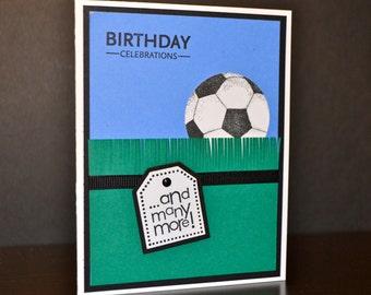 Soccer Birthday Card, Teen Birthday Card, Sports Birthday Card, Boy/Girl Birthday Card
