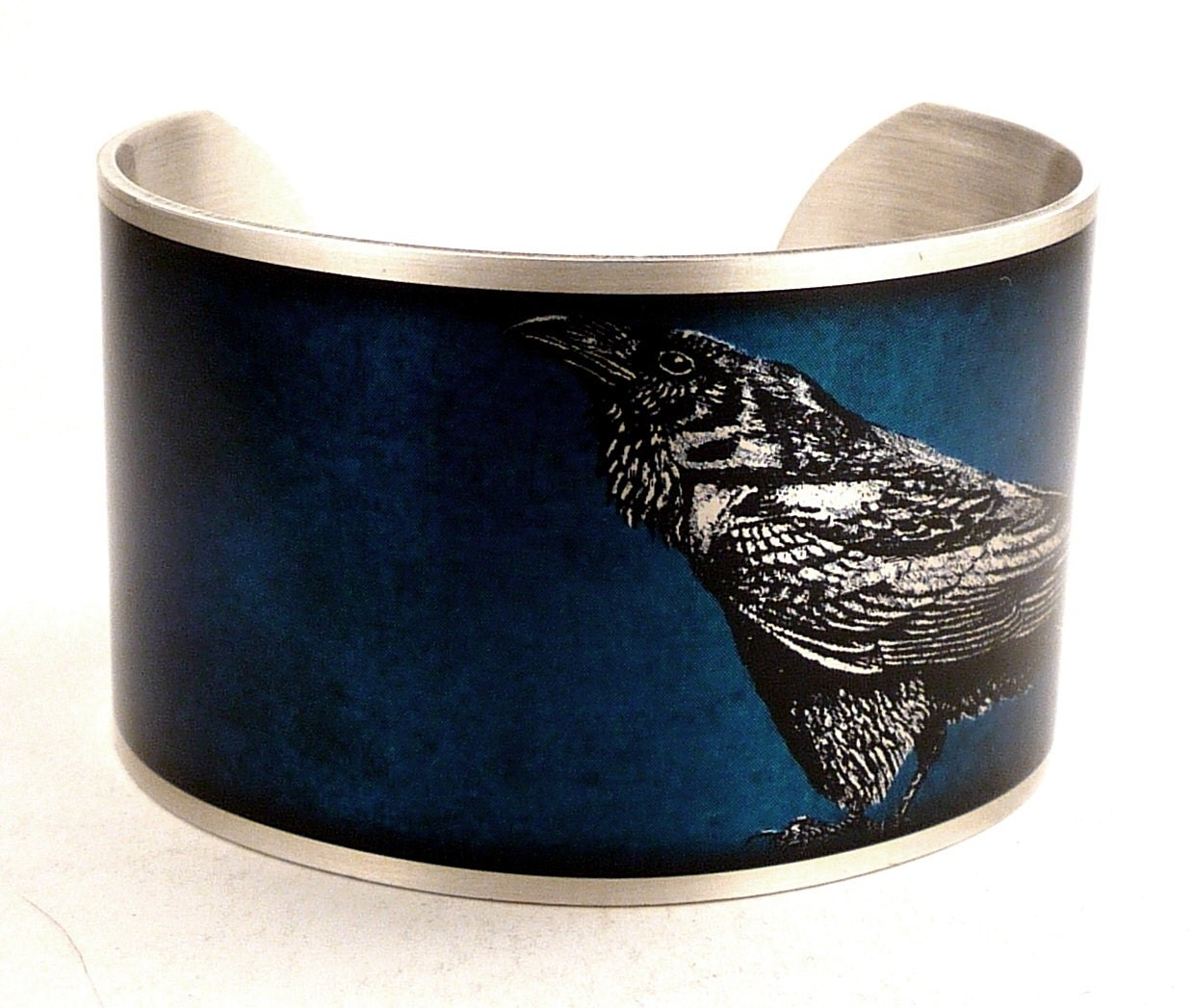 the cuff edgar allan poe inspired jewelry by
