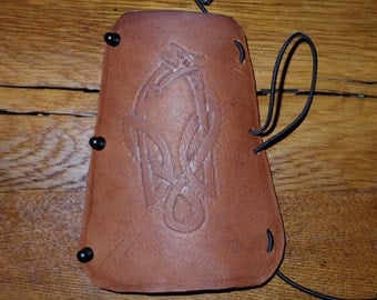 Customizable Celtic/Norse Knot-work Arm Guards