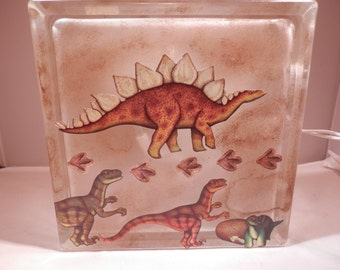 Childrens Night Light -Dinosaurs