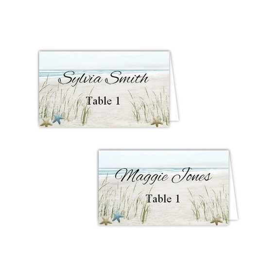 template for table tent cards - summer fun beach table tent cards diy printable template