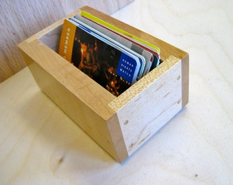 A box for business cards.
