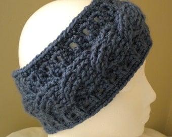 Crochet CABLE HEADBAND PATTERN
