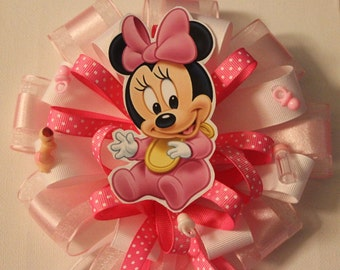 mom to be corsage minnie mouse