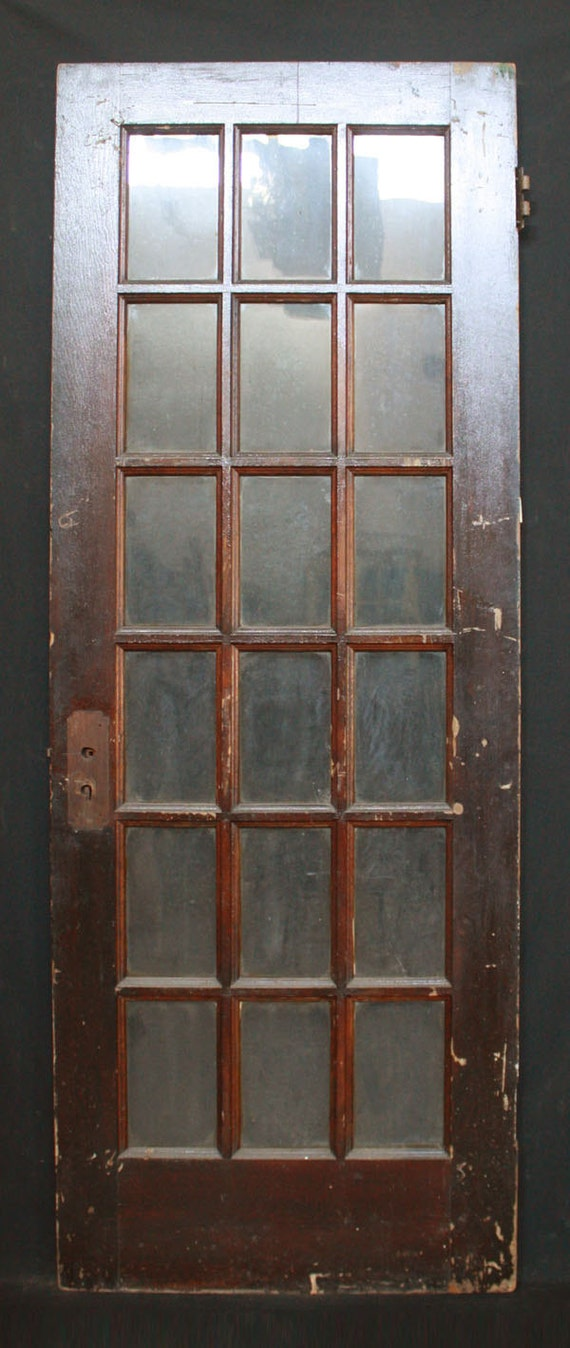 30 x 80 antique interior exterior entry french pine door for 18 x 80 french door