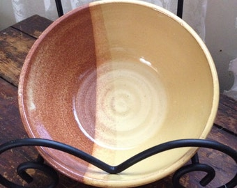 Butterscotch and Brown Bowl