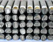 """State Metal Design Stamps- You Pick the State And Size- Any State In The USA- Advantage Stamp Series- Great For Harder Metals- SGAD3/8""""State"""