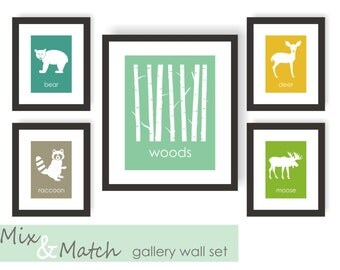 Gallery Wall Set gallery wall set | etsy