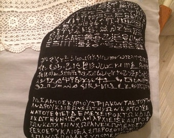 Rosetta Stone Pillow