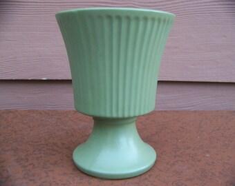Olive green Floraline vase
