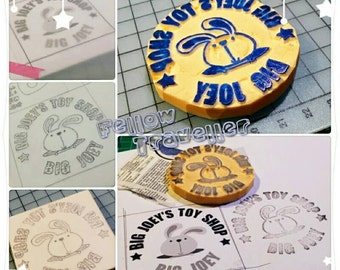 Custom Made - Personalized Eraser Stamp (Made to Order)